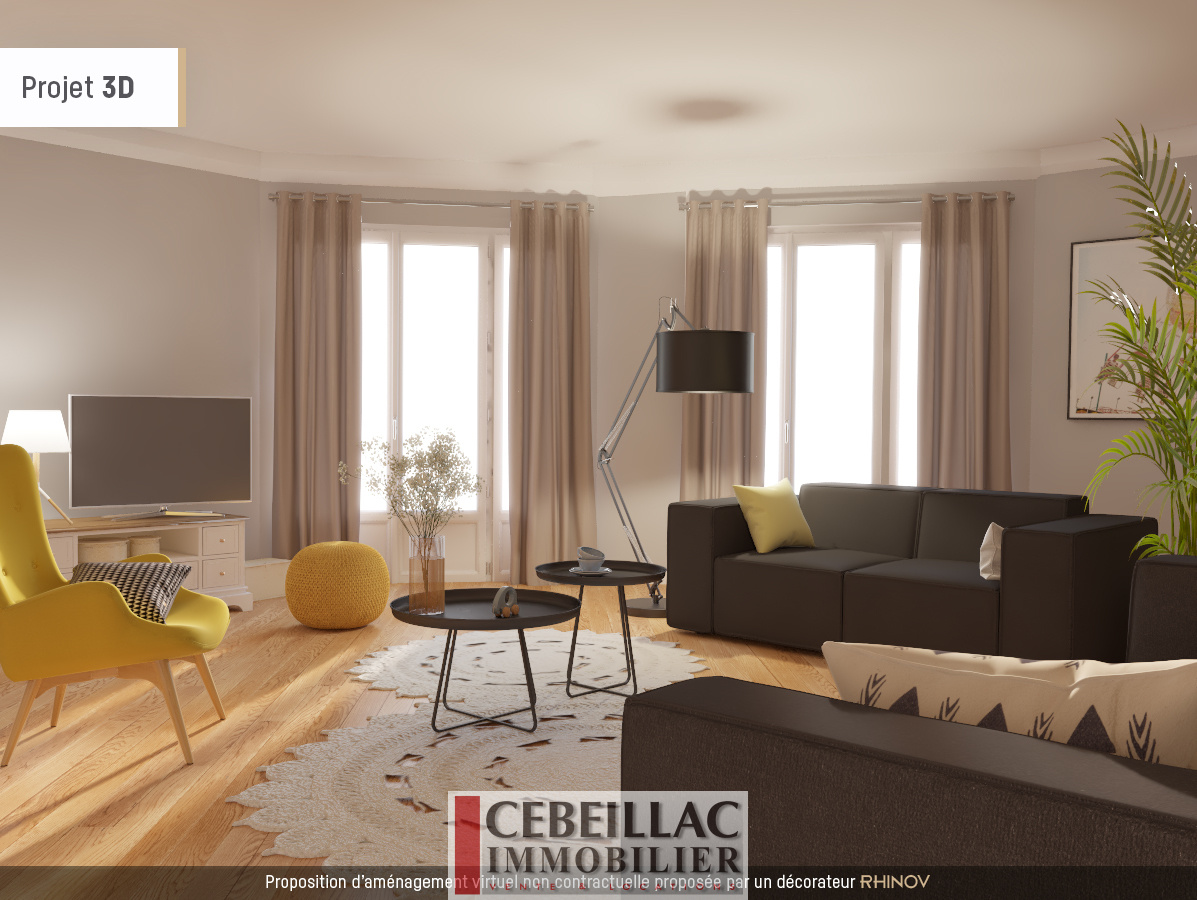 vente dernier etage avec ascenseur et hyper centre. Black Bedroom Furniture Sets. Home Design Ideas