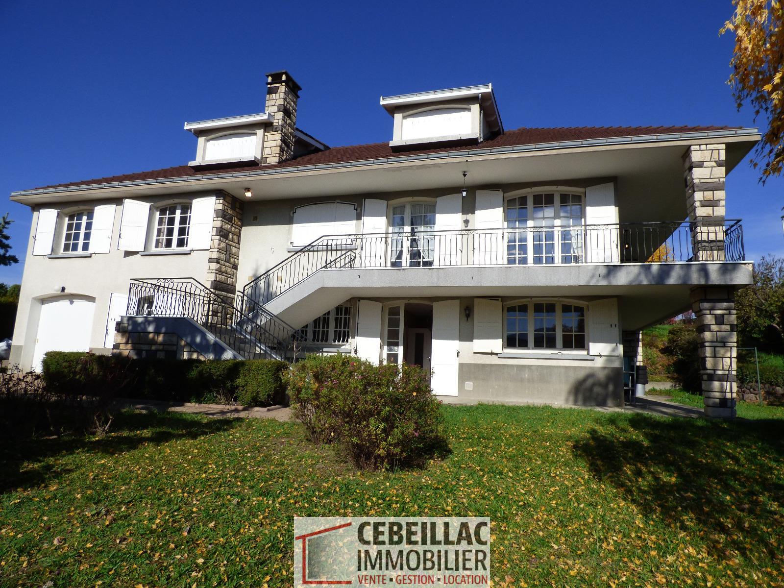 Vente cebeillac immobilier - Maison jardin nantes clermont ferrand ...